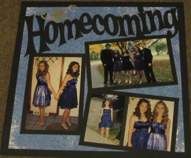 Homecoming 2012 - Scrapbook.com