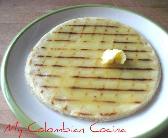 My Colombian Cocina - Arepas