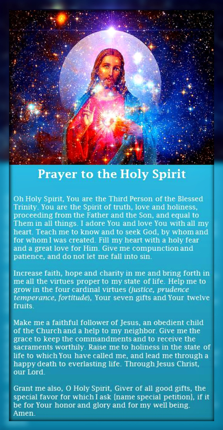 461 best Holy Spirit images on Pinterest | Holy ghost ...