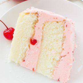Cherry Almond Cake– This light and fluffy almond cake topped with maraschino cherry buttercream frosting is the perfect cake for any celebration! I love maraschino cherries!! ♥ It brings me back to my childhood of drinking, Shirley Temple's or Kiddie Cocktail's like it's they are called here in Wisconsin! As a kid, I would ALWAYS ask …