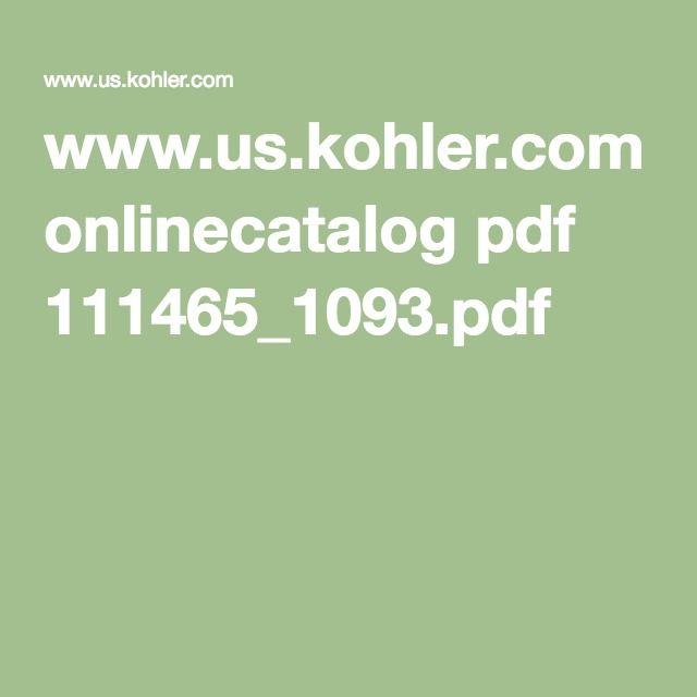 Colorful Www.us.kohler.com Onlinecatalog Embellishment - Kitchen ...
