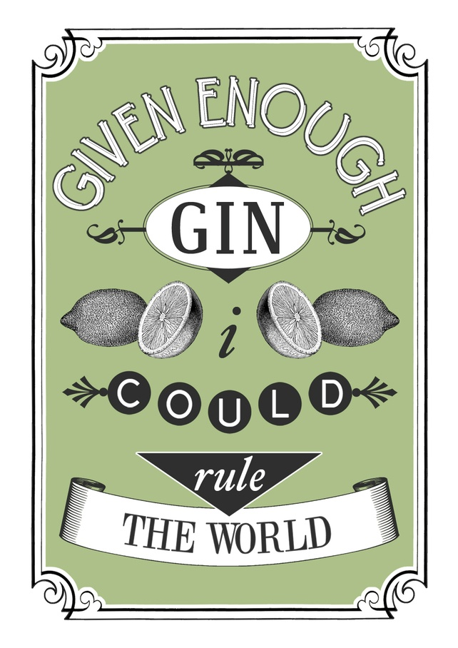 Gin was the liquor-of-choice for F. Scott Fitzgerald, and I connect so much with him that I should have known he'd steer me in the right direction at the bar! Gin cocktails are my favorite!