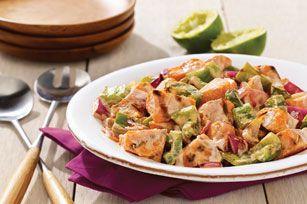 Smoky Grilled Sweet Potato Salad recipe