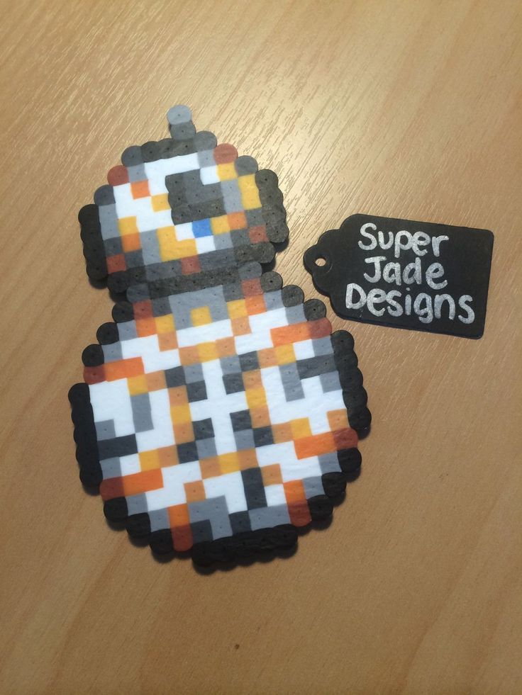BB8 - Star Wars via SuperJade Designs. Click on the image to see more!