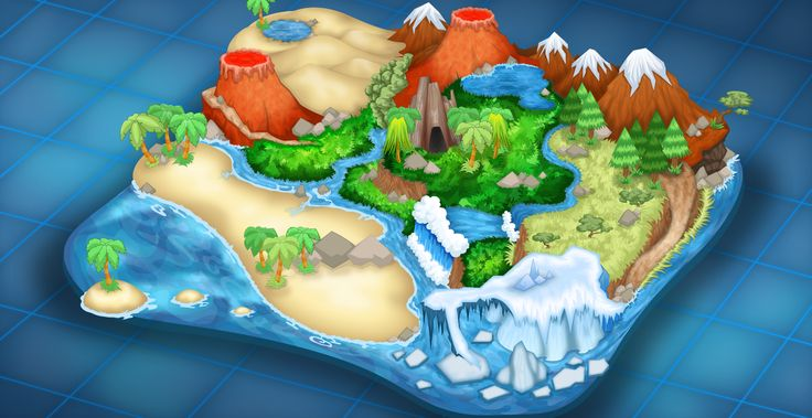 Game Map - Island   Museum
