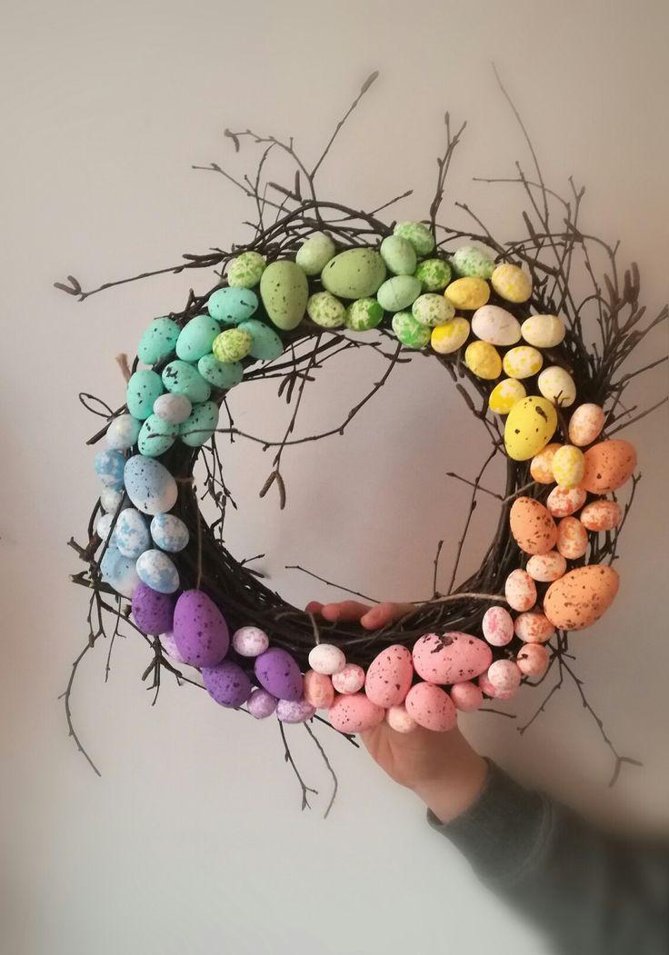Wielkanocne dekoracje ,wianki