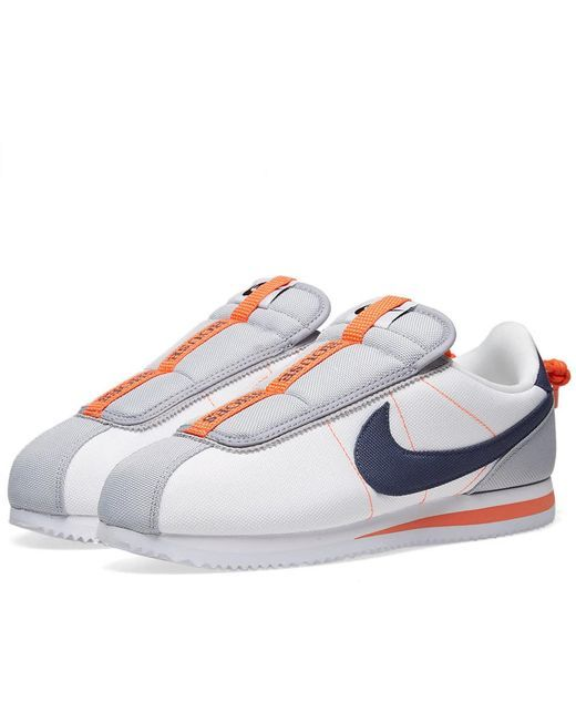 fb02100a150 Nike - Cortez Kenny Iv In White thunder Blue for Men - Lyst