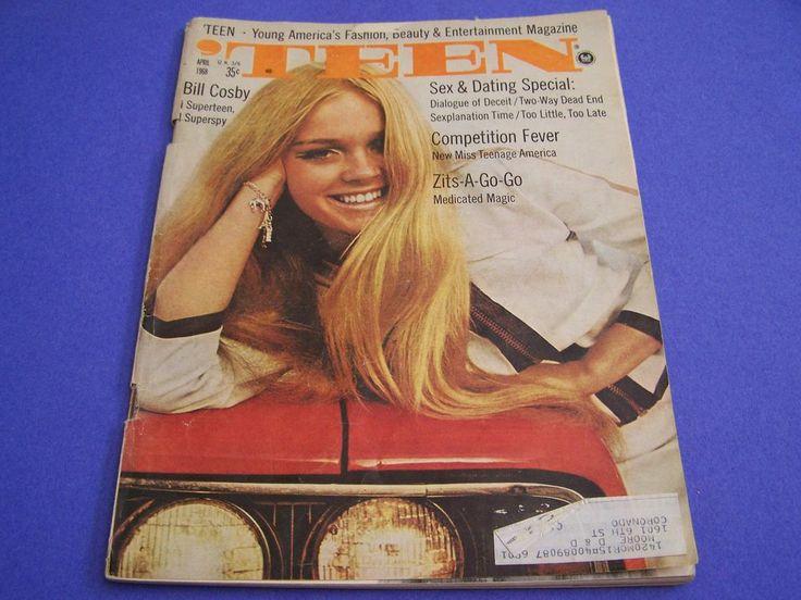 April 1968 'TEEN Magazine Classic 60's Beauty Fashion, Kam