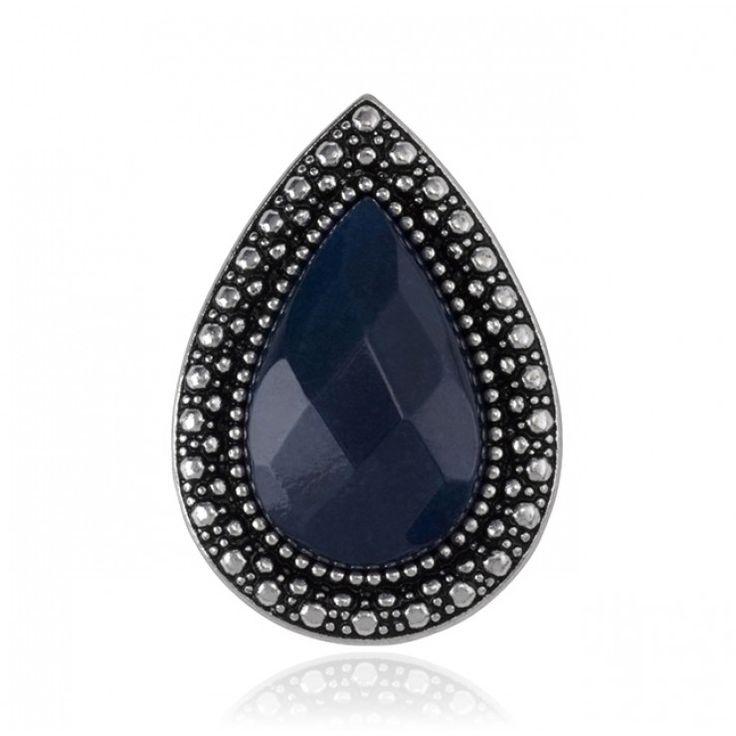 BOHEMIAN BARDOT RING - FACET INDIGO - Rings - Shop All | SAMANTHA WILLS