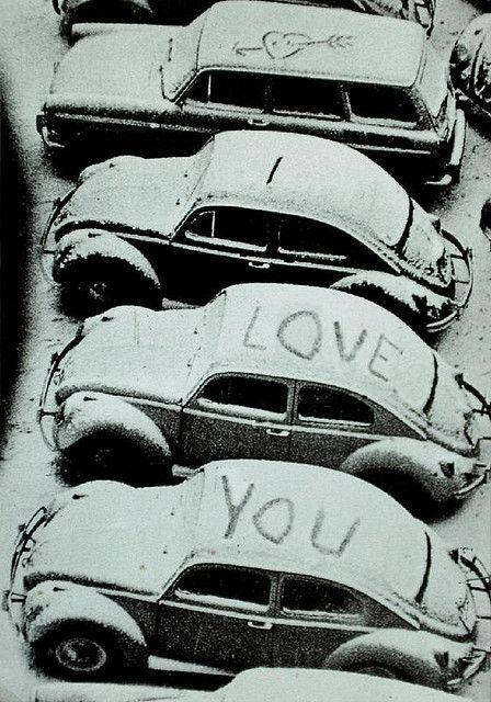 amour sous la neige