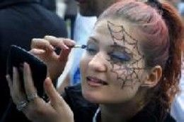 Spider Web Makeup Ideas and Tutorials                                                                                                                                                                                 More