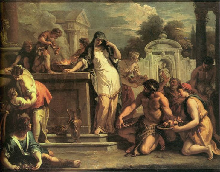 Sebastiano Ricci, Sacrifice to Vesta