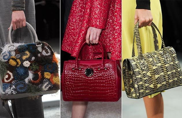 Fall/ Winter 2014-2015 Handbag Trends: Satchel Bags #bags #bagtrends #trends