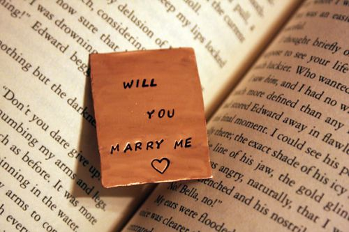 Proposal x Will you marry me ?