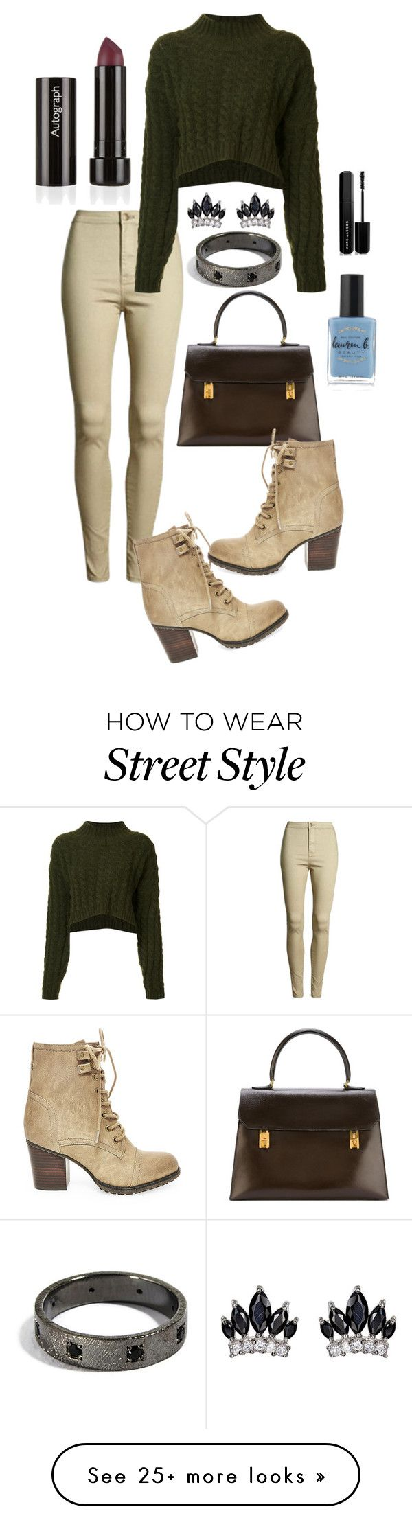 """""""outfit"""" by cc-carmen on Polyvore featuring Vivienne Westwood Anglomania, Steve Madden, Fallon, Hermès, Marc Jacobs, Lauren B. Beauty, outfit, booties and wintersweater"""