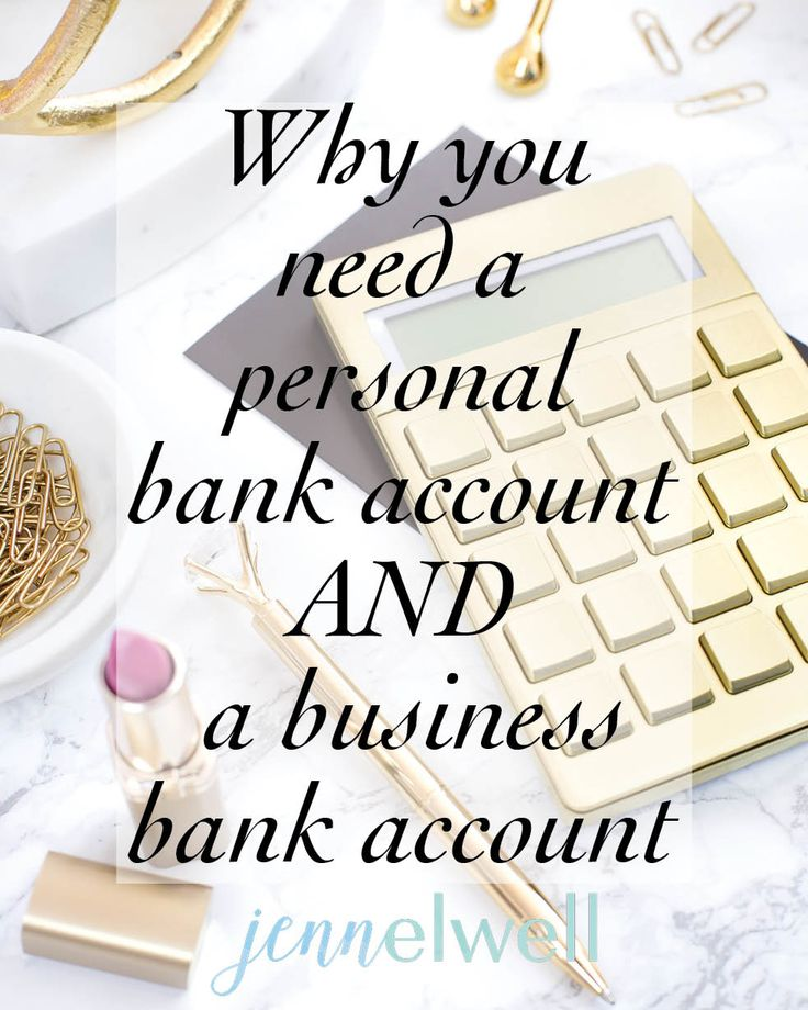 Getting a separate bank account for your business is not only the smart choice, but it's fairly painless.