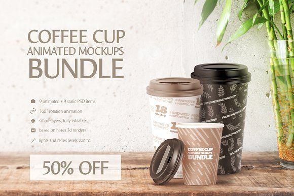 Coffee Cup Animated Mockups Bundle by rebrandy on @creativemarket  Watch an exported video:  https://youtu.be/EruFDn5RRwg https://youtu.be/QqJ3bymI1GA https://youtu.be/iVl9iS5yoKo https://youtu.be/1ZyfwBizWao https://youtu.be/qIcoD_h_Qng https://youtu.be/PkpFn4sOYOA #cupdesign #disposable #mockup #takeawaycoffee #coffeehouse #coffeeshop #takeawaycup #coffee #coffeetime #brandingdesign #papercup #cup #productdesign #packagingdesign #packaging  #logodesign #branding #psd #download #mockup
