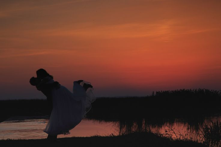 Trash the Dress by www.picturesque.ro  #trashthedress #weddingphotographer #weddings #sunset #red #lovestory #love #photo