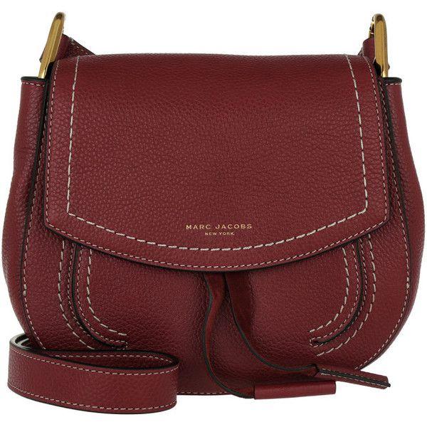 Marc Jacobs Shoulder Bag - Maverick Small Crossbody Bag Cabernet - in...  (1 32ce99d2fa4ce