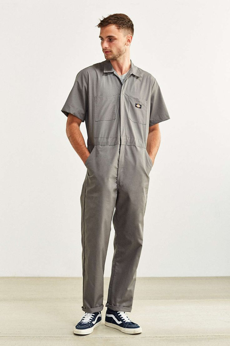 dickies basic short sleeve coverall with images basic on dickies coveralls id=34180