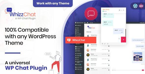 Free Download Whizzchat A Universal Wordpress Chat Plugin In 2020 Plugins Wordpress Plugins Wordpress