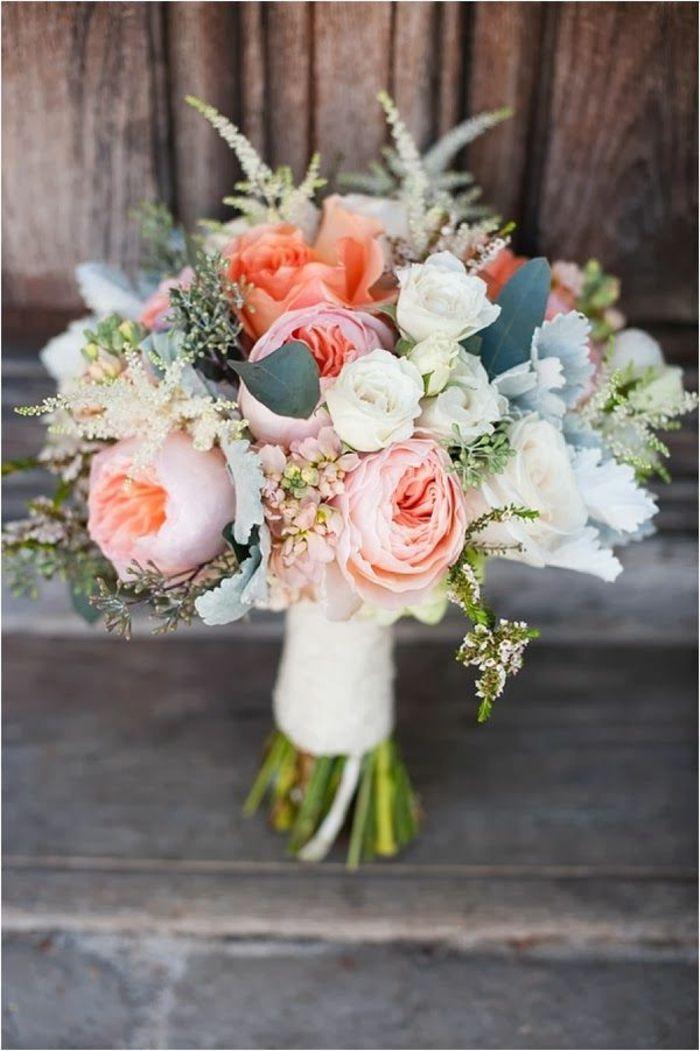 ramo de novia fresco ramo de novia hermosas ideas decoración de la boda boda …
