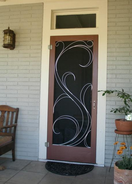 26 best images about Decorative screen doors on Pinterest