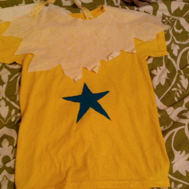 Star bellied Sneetch outfit for Dr. Seuss day