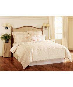 Damask Cream Duvet Cover Set | Overstock.com Shopping - Great Deals on Duvet Covers