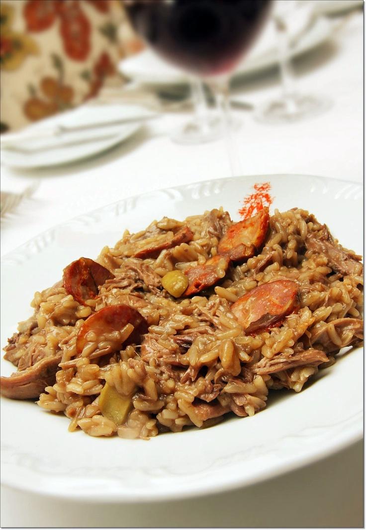 Arroz de Pato à Madeira | Duck Rice (Madeira style)