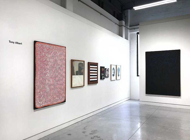 Exhibition Install | Collection of Tony Albert | MAY SPACE Sydney | exhibition enlargement