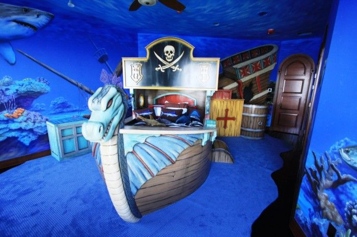 17 best ideas about pirate ship bed on pinterest boat for Kids pirate room