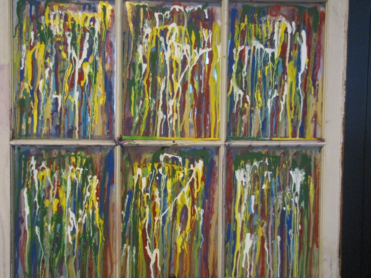 Window Paint Craft Ideas