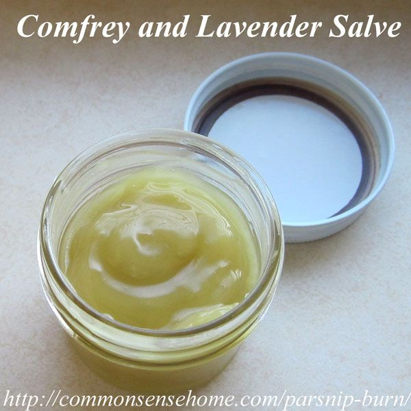 """Comfrey contains allantoin, an anti-inflammatory phytochemical that speeds would healing and stimulates growth of new skin cells.""  This burn cream recipe also includes one ounce each of dried plantain, calendula and St. John's wort to bump up the healing power a little more."