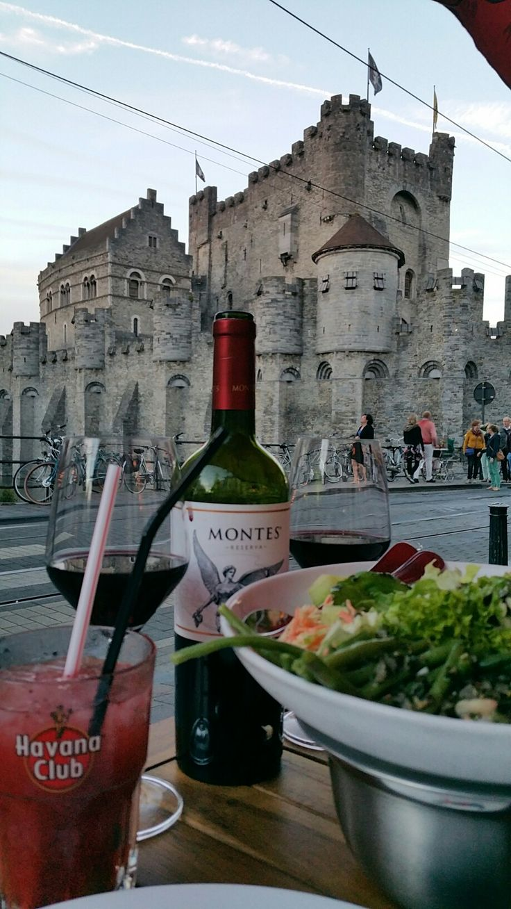 Dinner with view - Ghent (Pampas by Rodizio restaurant)