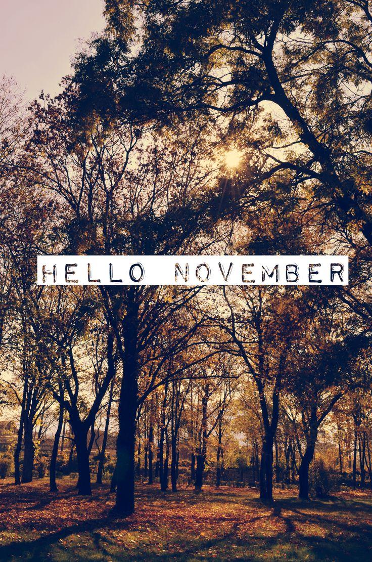 Hello November!!
