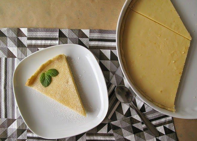 hladová: Citronový koláč Babička měla vždycky na stole u sn...