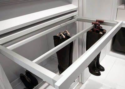 Идеи хранение вещей в шкафу купе и гардеробной.