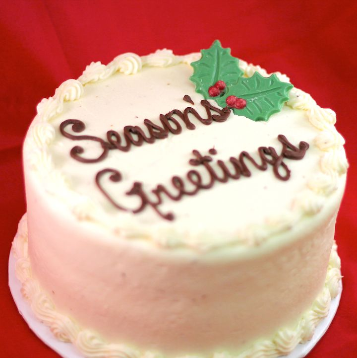 Say it best with Prairie Girl! Personalize your cakes, order 2 days in advance!