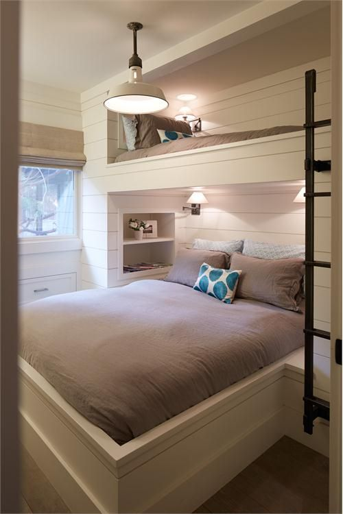 #PhilHarveySF #PhilipHarveyPhotography Relaxing Transitional Bedroom by Tineke Triggs on HomePortfolio #BunkBeds