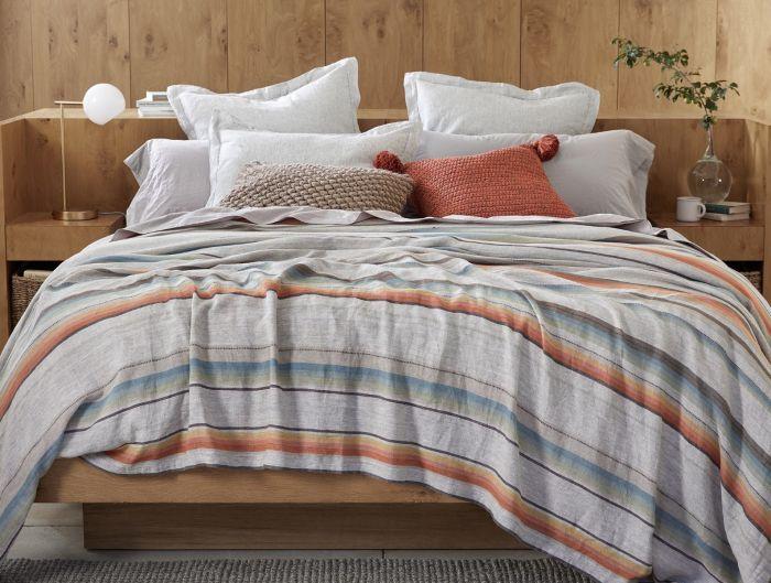 Mojave Organic Linen Blanket Organic Blankets Shabby Chic Dresser Coyuchi