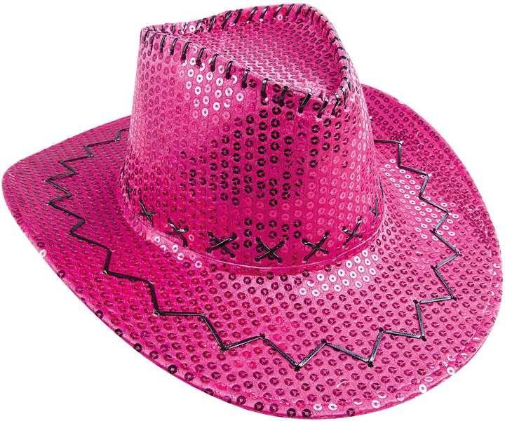 Chapeau de cow-boy à sequins