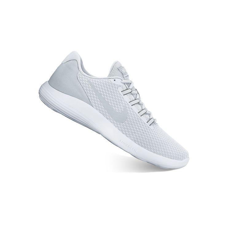 Nike LunarConverge Men's Running Shoes, Size: 10.5, White