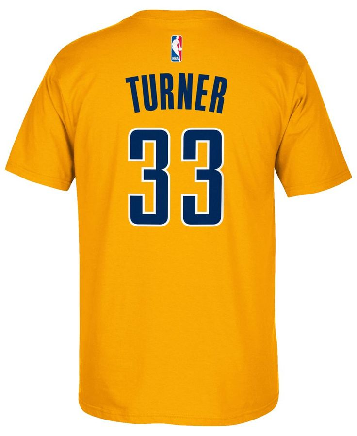 adidas Men's Myles Turner Indiana Pacers Player T-Shirt