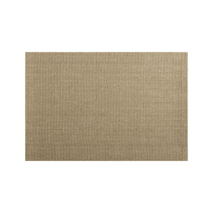 Sisal Almond Rug Crate And Barrel In India And Latex