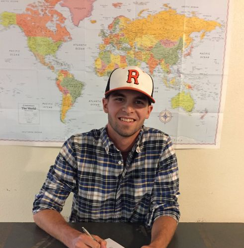 Congratulations to Reedley College Tiger, Noah Fluharty, who signed a Letter of Intent with Lindsey Wilson College.