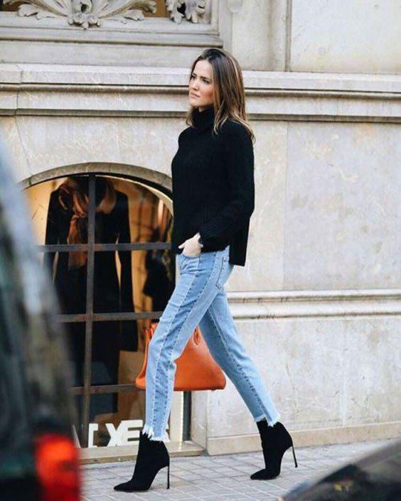 maglione nero consulente di immagine | Outfit | How to wear