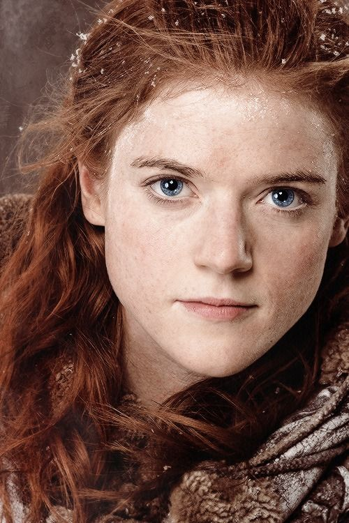 Rose Leslie would a good Brielle, Tomas' wife. I haven't seen her in Game of Thrones, but I am sure she would be able to play a strong redhead.