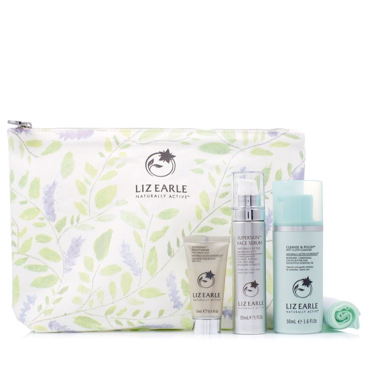 233306 - Liz Earle Superskin Firming Facial Favourites  £40.00 + P&P: £4.95  This skincare selection includes the cult classic Cleanse & Polish along with moisturising essentials Superskin Face Serum and Superskin Moisturiser with Natural Neroli. Help your skin to feel as smooth and plumped as possible with this Liz Earle collection.
