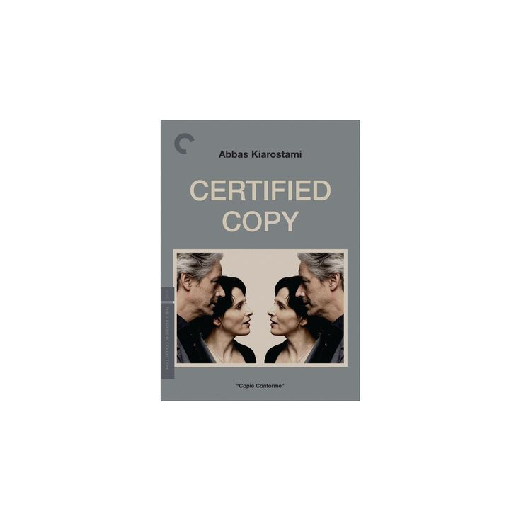Certified copy (Dvd), Movies